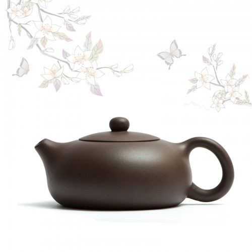Чайник Бянь Си Ши Цзы Ша 200мл. с гнездом