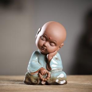 Чайная Фигурка Маленький Монах №4