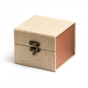 Коробка подарочная для пиал Бежевая