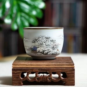 Пиала Жу Яо Пейзаж №4