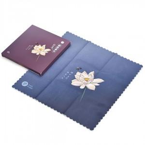 "Полотенце для чайной церемонии Принт ""Цветок Лотоса"""