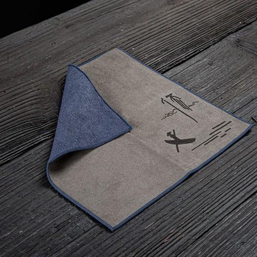 Полотенце для чайной церемонии Двухстороннее 30х30 №3