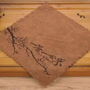 Полотенце для чайной церемонии 30х30 Цветущая слива