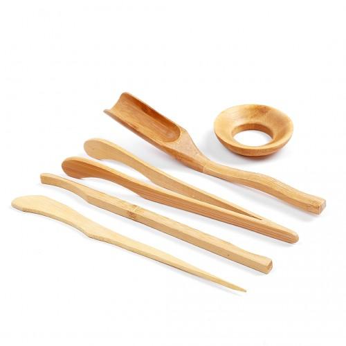 Набор Инструментов Для Чайной Церемонии №08